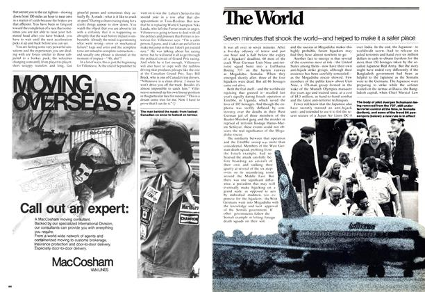 Article Preview: Seven minutes that shook the world—and helped to make it a safer place, OCTOBER 31,1977 1977 | Maclean's