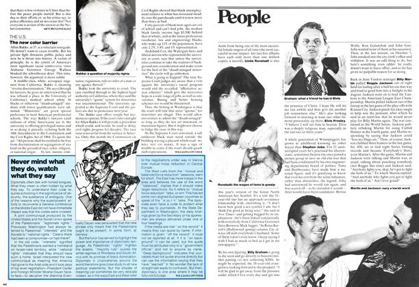 Article Preview: The new color barrier, OCTOBER 31,1977 1977 | Maclean's