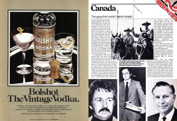 Article Preview: The gang that couldn't spook straight, November 1977   Maclean's