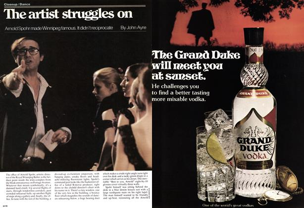 Article Preview: The artist struggles on, November 1977 | Maclean's
