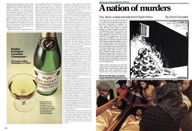 Article Preview: A nation of murders, November 1977 | Maclean's
