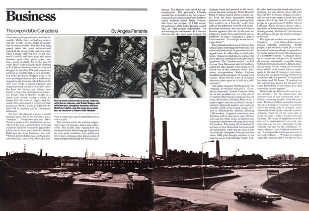 Article Preview: The expendable Canadians, November 1977 | Maclean's