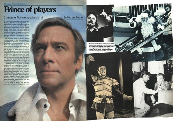 Article Preview: Prince of players, November 1977 | Maclean's