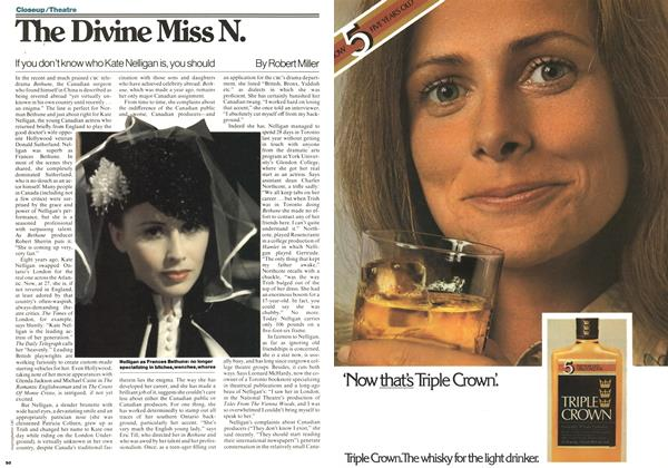 Article Preview: The Divine Miss N., November 1977 | Maclean's