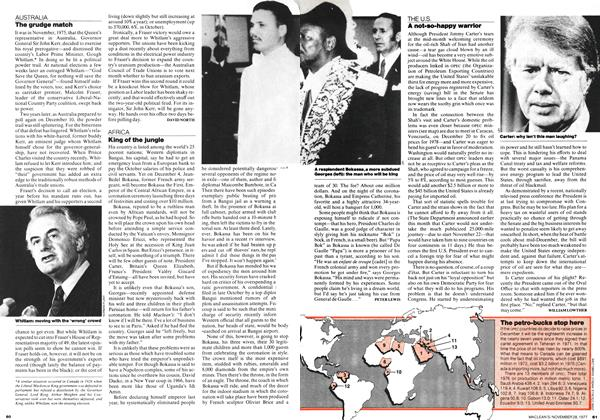 Article Preview: A not-so-happy warrior, November 1977 | Maclean's