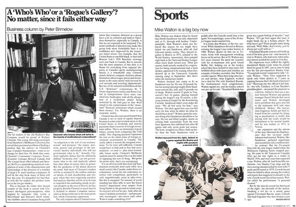 Article Preview: A'Who's Who' or a 'Rogue's Gallery'? No matter, since it fails either way, November 1977 | Maclean's
