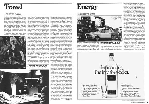 Article Preview: Pop goes the diesel, November 1977 | Maclean's