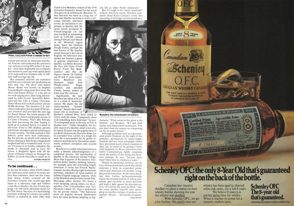 Article Preview: To be continued..., November 1977   Maclean's
