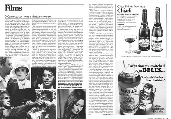 Article Preview: O Ca-na-da, our home and native movie set, November 1977 | Maclean's