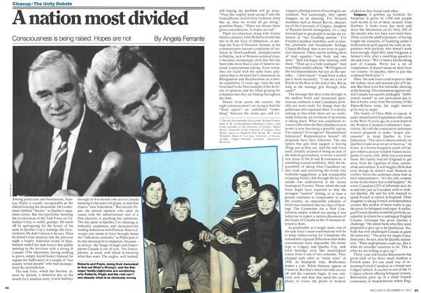 Article Preview: A nation most divided, December 1977 | Maclean's