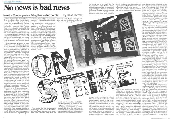 Article Preview: No news is bad news, December 1977 | Maclean's