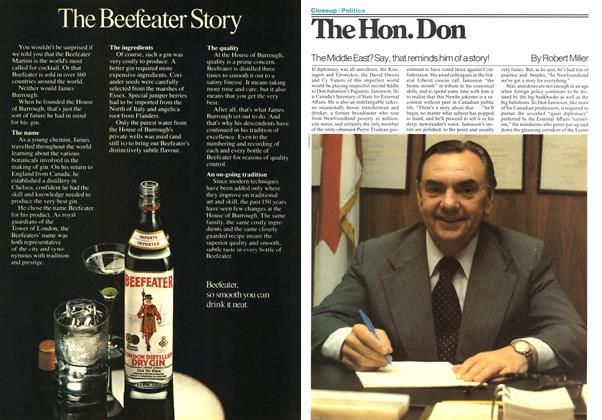 Article Preview: The Hon. Don, December 1977 | Maclean's