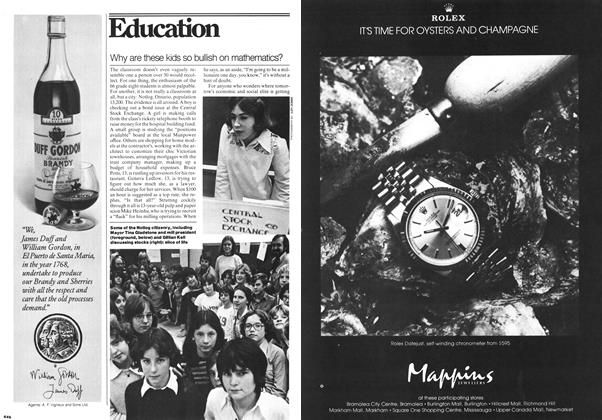Article Preview: Why are these kids so bullish on mathematics?, December 1977 | Maclean's