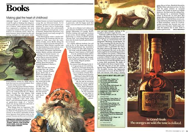 Article Preview: Making glad the heart of childhood, December 1977 | Maclean's