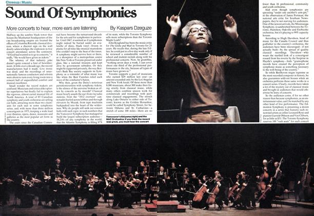 Article Preview: Sound Of Symphonies, December 1977 | Maclean's