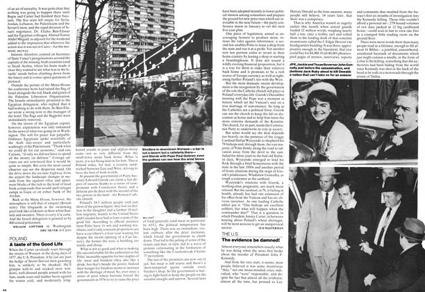 Article Preview: The evidence be damned!, December 1977   Maclean's
