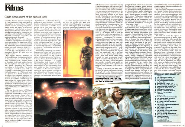 Article Preview: Close encounters of the absurd kind, December 1977 | Maclean's