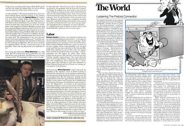 Article Preview: Loosening The Pretoria Connection, January 1978 | Maclean's
