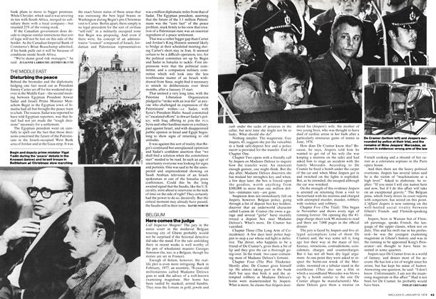 Article Preview: Disturbing the peace, January 1978 | Maclean's