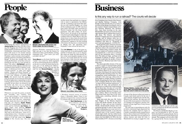 Article Preview: Is this any way to run a railroad? The courts will decide, January 1978 | Maclean's