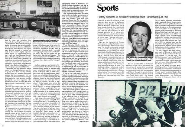 Article Preview: History appears to be ready to repeat itself—and that's just fine, January 1978 | Maclean's