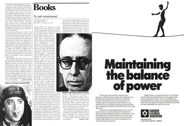 Article Preview: So well remembered, January 1978 | Maclean's