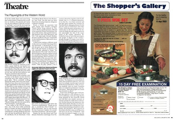 Article Preview: The Playwrights of the Western World, January 1978   Maclean's