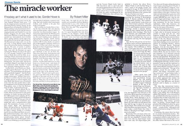 Article Preview: The miracle worker, JANUARY 23,1978 1978 | Maclean's