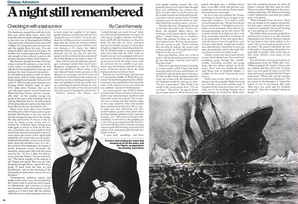 Article Preview: A night still remembered, JANUARY 23,1978 1978 | Maclean's
