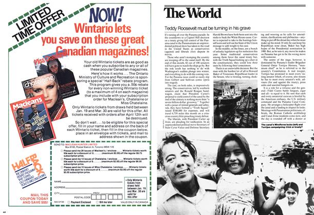 Article Preview: Teddy Roosevelt must be turning in his grave, JANUARY 23,1978 1978 | Maclean's