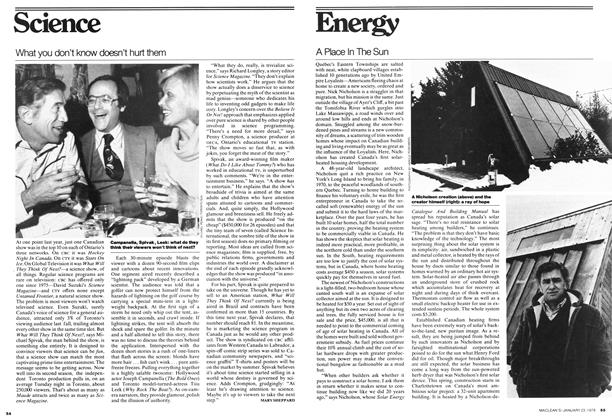 Article Preview: A Place In The Sun, JANUARY 23,1978 1978 | Maclean's