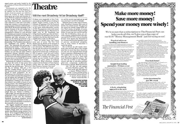 Article Preview: Will the next Broadway hit be Broadway itself?, JANUARY 23,1978 1978 | Maclean's
