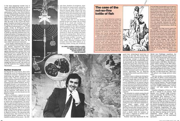 Article Preview: Sunken treasures, February 1978 | Maclean's