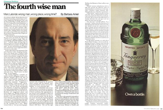 Article Preview: The fourth wise man, February 1978 | Maclean's