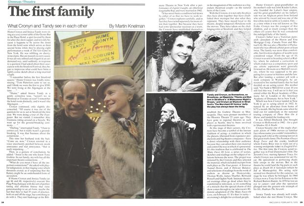 Article Preview: The first family, February 1978 | Maclean's