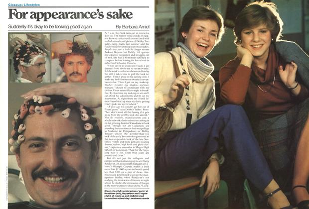 Article Preview: For appearance's sake, February 1978 | Maclean's