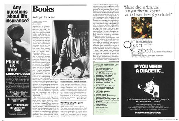 Article Preview: Books, February 1978 | Maclean's