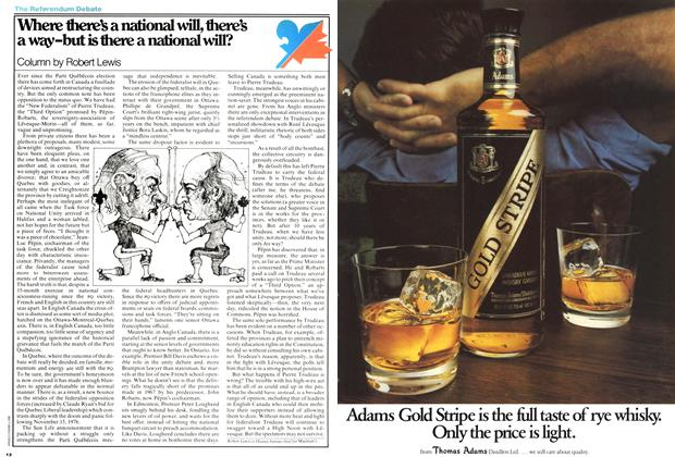 Article Preview: Where there's a national will, there's a way-but is there a national will?, February 1978 | Maclean's