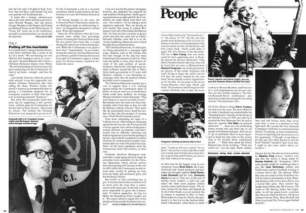 Article Preview: Putting off the inevitable, FEBRUARY 20,1978 1978 | Maclean's