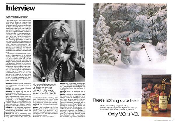 Article Preview: Interview, FEBRUARY 20,1978 1978 | Maclean's
