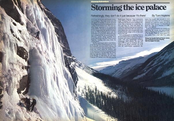 Article Preview: Storming the ice palace, FEBRUARY 20,1978 1978 | Maclean's