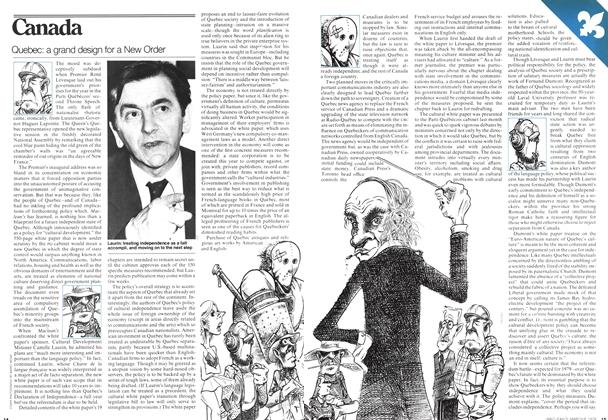 Article Preview: Quebec: a grand design for a New Order, MARCH 6,1978 1978 | Maclean's