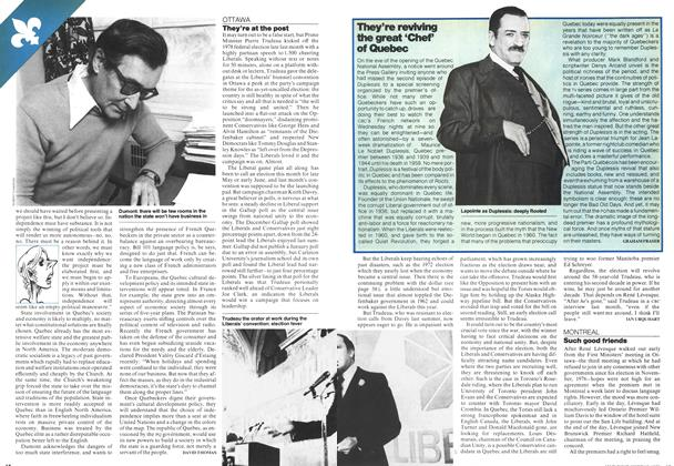 Article Preview: They're reviving the great 'Chef' of Quebec, MARCH 6,1978 1978 | Maclean's