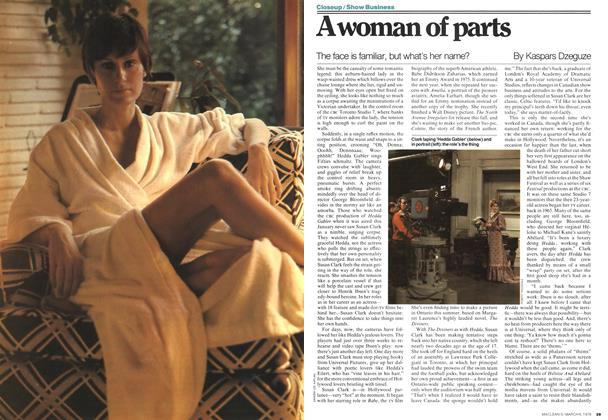 Article Preview: A woman of parts, MARCH 6,1978 1978 | Maclean's