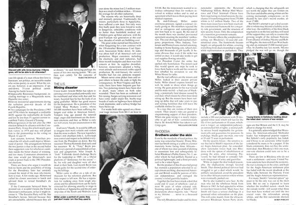 Article Preview: Mining disaster, MARCH 6,1978 1978 | Maclean's