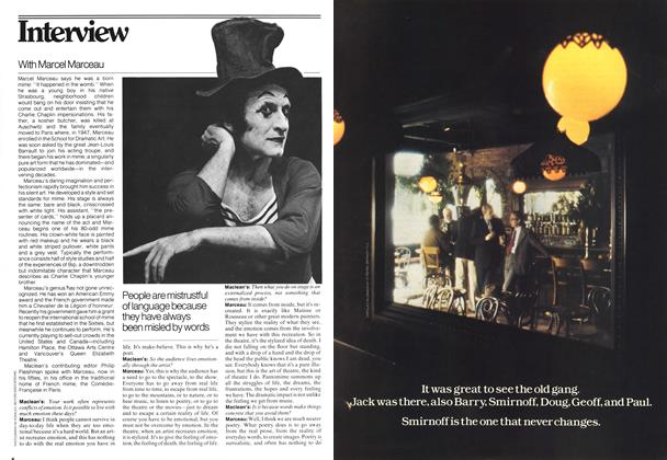 Article Preview: Interview, MARCH 6,1978 1978 | Maclean's
