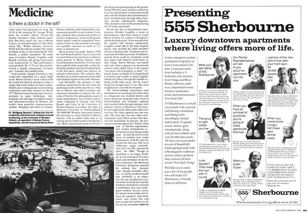 Article Preview: Medicine, MARCH 6,1978 1978 | Maclean's