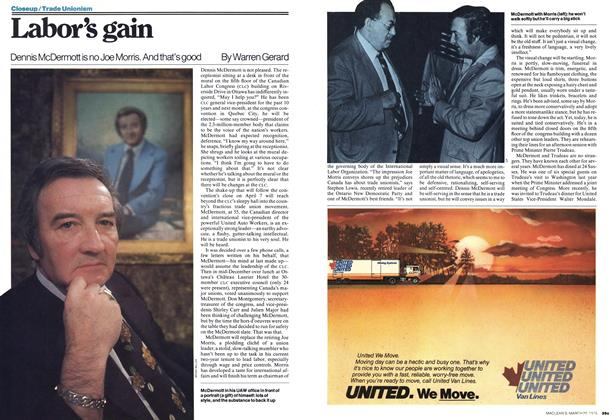 Article Preview: Labor's gain, March 1978 | Maclean's