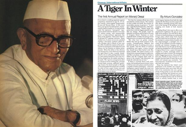 Article Preview: A Tiger In Winter, March 1978 | Maclean's