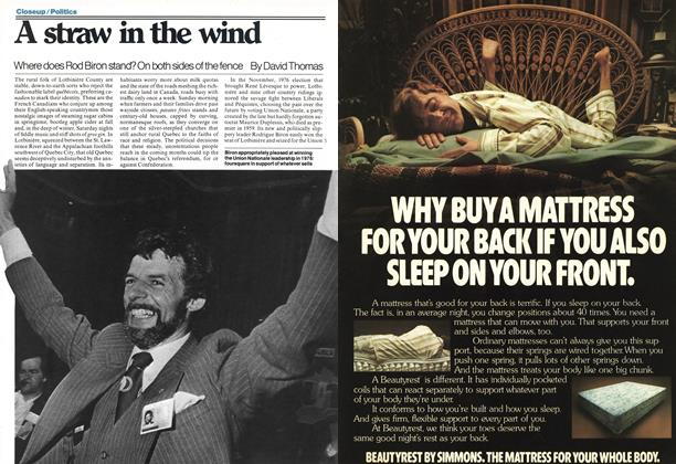 Article Preview: A straw in the wind, March 1978 | Maclean's